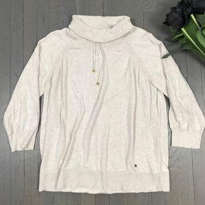 JONES New York Long Sleeve Turtleneck Sweater